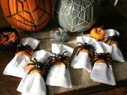 Halloween Spider Napkin Holders