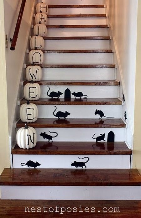 Halloween Decoration Ideas For Steps