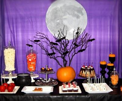 Moonstruck Halloween Decoration Ideas