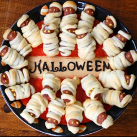 Pigs In A Blanket Halloween Party Food