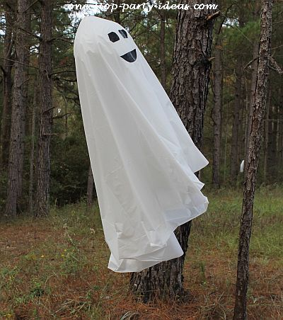 Halloween yard decorations - Diy halloween ghost decorations ...