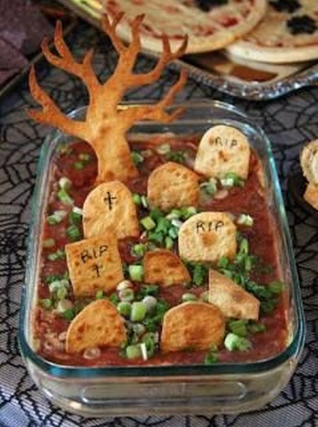 Cemetery Halloween Party Food