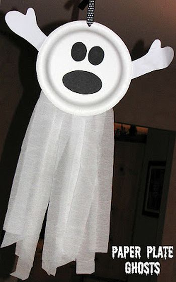 Ghostly Preschool Halloween Mask