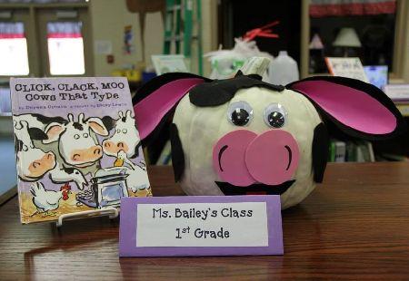 Moo Cow Halloween Pumpkin