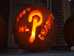Team Spirited Halloween Pumpkin Carving Ideas