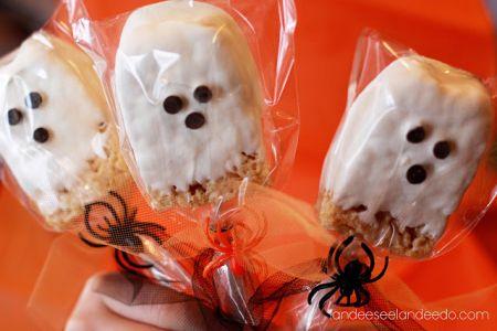 Rice Krispy Halloween Treats For Kids