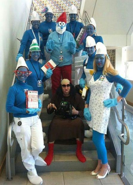 Village of Smurf Costumes