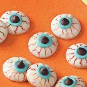Eyeball Halloween Snacks