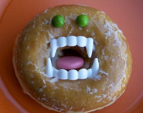 Doughnut Halloween Treats For Kids