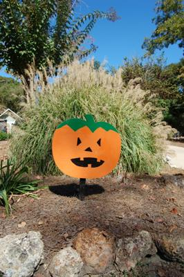 Pumpkin Halloween Yard Decoration