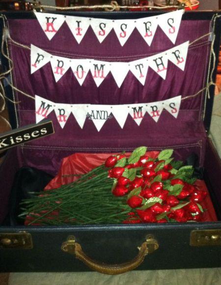 DIY Hershey Kiss Rose Favor