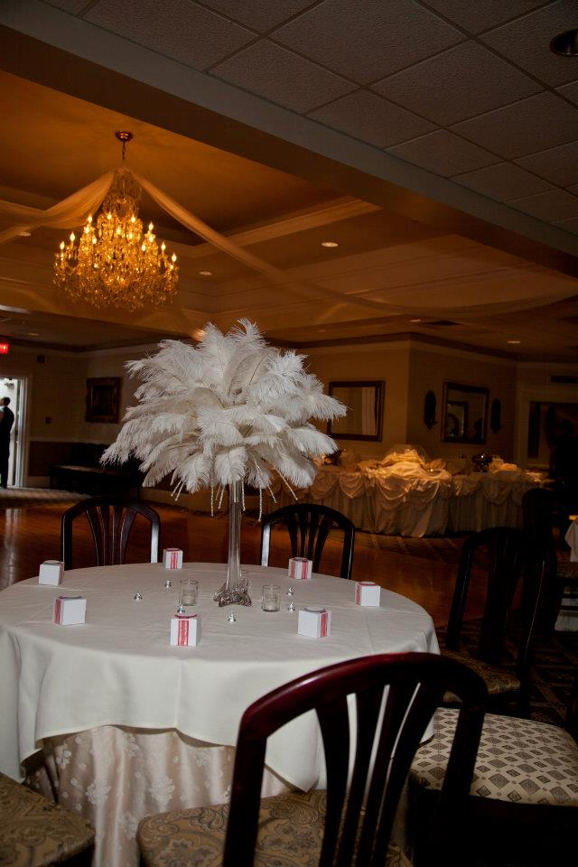 Hershey Kiss Wedding Favor Table