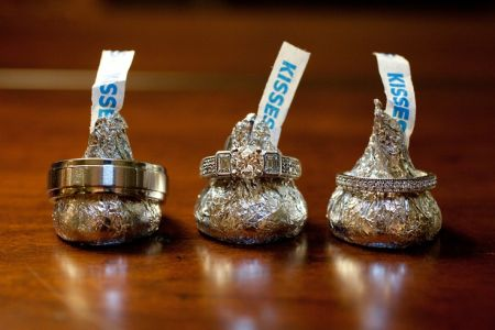 Hershey Kisses And Wedding Rings