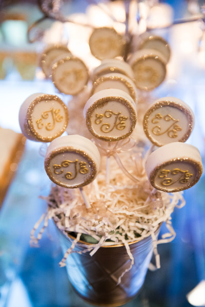 Monogrammed Oreo Cookie Favors
