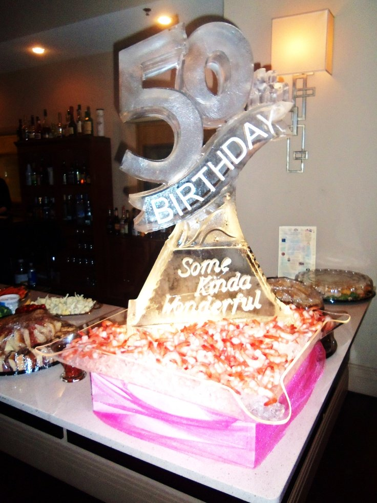 Planning A 50th Birthday Party Ice Sculpture