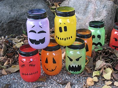 Luminary Kids Halloween Crafts