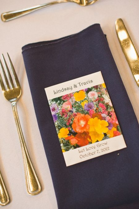 Seed Packet Table Setting