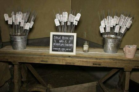 Sparklers For Weddings Safety Idea