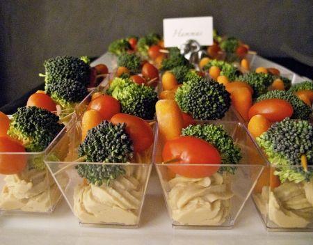 Vegetable Appetizer Veggie Cups