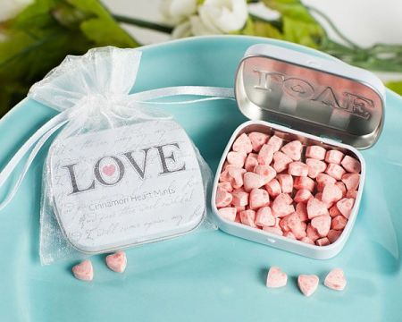 Sophisticated Mint Wedding Favors