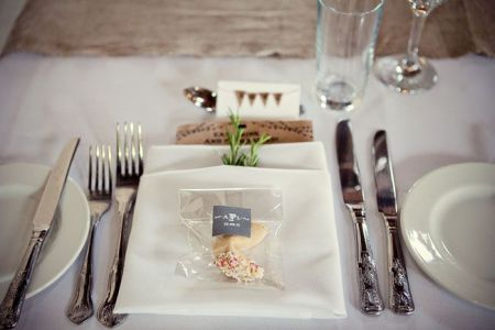 Personalized Wedding Fortune Cookies