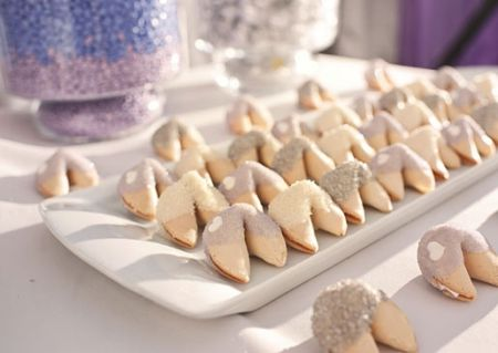 Wedding Fortune Cookie Display