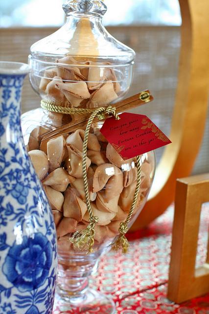 Wedding Fortune Cookie Jar